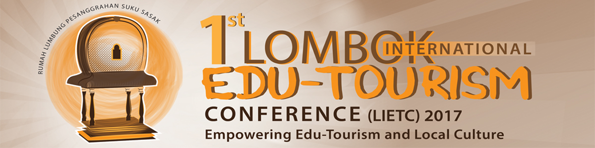 1st Lombok International Edu-Tourism Conference